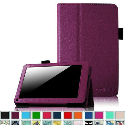 """Folio Case For 7"""" Amazon Kindle Fire 1st Generation (2011) Slim Fit Stand Cover"""
