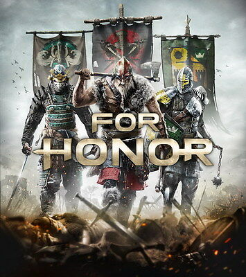 "006 FOR HONOR - Medieval War Action Fight Game 14""x15"" Poster"