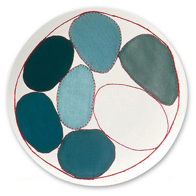 "Third Drawer Down Louise Bourgeois ""Circles"" Dinner Plate - Bone China"