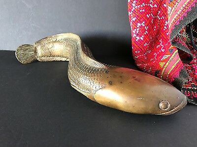 Old Chinese Bronze Fish …beautiful unique display piece