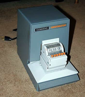 Cummins 304 Received Date Perforator Perforating Machine, Excellent Condition!!!
