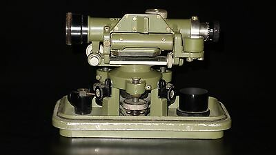 Rare Vtg Old Leica WILD HEERBRUGG Theodolite Swiss Made Surveyor Surveying Tool