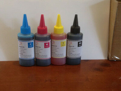 Refill 4X Dye/Pigment/Sublimation Ink for Epson Printer CISS or cartridges