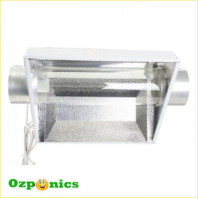 Xtra Cool Tube 6 Inch Air Cooled Reflector With Glass Tube Hydroponics