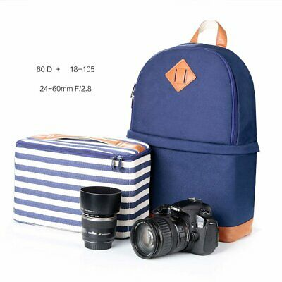 Camera Backpack For DSLR  Canon Nikon Sony Bags Universal Padded Lens Case Cover
