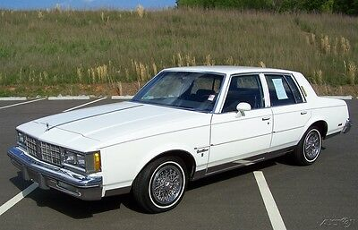 1984 OLDSMOBILE CUTLASS SUPREME BROUGHAM ORG MILES 5 0L 307 4BBL V8 BEAUTY