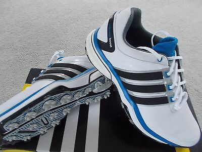 Mens Adidas Golf Shoes Trainer Style Adipower Boost Wd Wide Uk 7 1/2  Eu 41 1/3