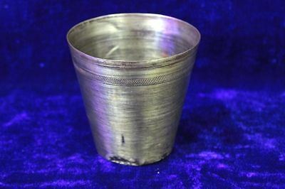 Vintage Old Antique Brass Lassi Glass Made in Germany Decorative Collectible PS4