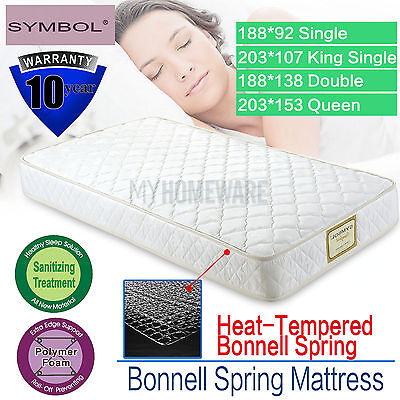 Double Sided Single Queen Mattresses Comfort Layer Innerspring Sleeping Cushion