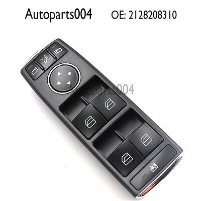 Fit Mercedes Benz W204  Front Left Drivers Side Window Switch OE A 2128208310