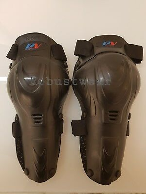 Adult KNEE PADS LEG PROTECTION ARMOUR OFF ROAD MOTOCROSS KNEE SHIN GUARDS
