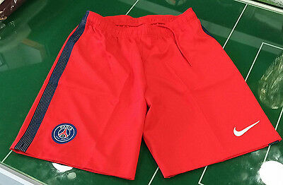 Calcio Football Pantaloncini Shorts Nike 2016/2017 Home/away Psg Rosso Red Paris