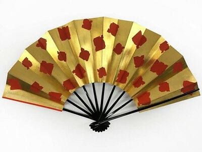 Vintage Japanese Geisha Odori 'Maiogi' Folding Dance Fan from Kyoto: MayL