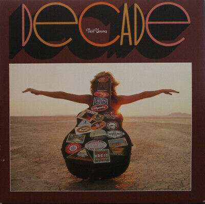 Neil Young Decade RSD limited remastered vinyl 3 LP g/f NEW