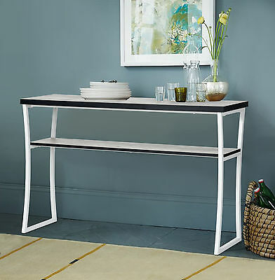 Urban Vintage Industrial Display Console Table Side Table Hall Table Home Decor