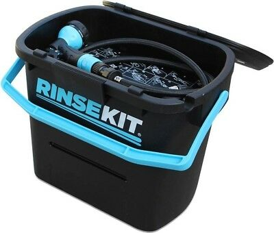 Rinsekit Pressurized Portable Shower Camping Outdoors