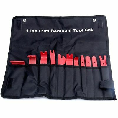 11pcs Car Door Trim Panel Molding Clip Retainer Removal Pry Tool Kit Car Repair