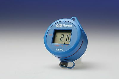 Tinytag Temperature data logger with display and built-in sensor -30°c - +50°c