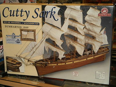 Cutty Sark 1:115 Kit En Madera Constructo