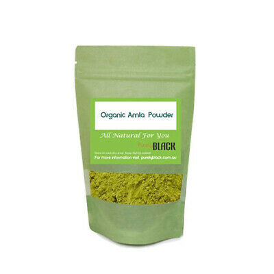 Organic Amla Powder Indian Gooseberry Powder  Herbs Herb Herbal Hair Skin Care