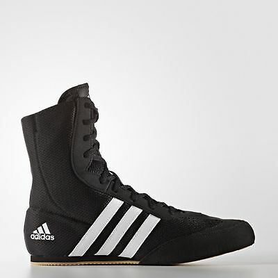 Adidas Box Hog 2 Men's Boxing Boots - Black & White - G97067