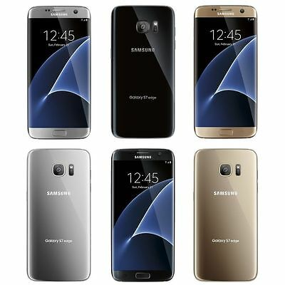 Samsung Galaxy S7 Edge DUOS 32GB Unlocked GSM 4G LTE Octa-Core Smartphone - New