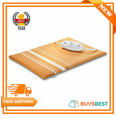 Beurer Electronic Therapeutic Heating Pad with Turbo Fast Heat Up 50°-75°C HK35