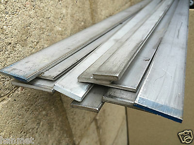 Stainless Steel 304 Flat Bar/Strip 10/15/20/25/30/35/40mm  x 3/4/5/6mm thick.