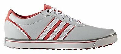 adidas Adicross V, Scarpe da Golf Donna, Grigio (Clear Grey/White/Core (p9x)