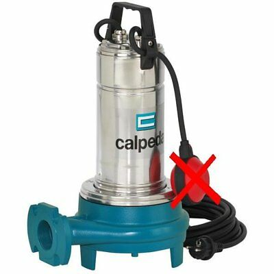 Pompe Eau Submersible Dilaceratrice Eau Usee CALPEDA GQG6-25 1,5kW 2Hp 400V
