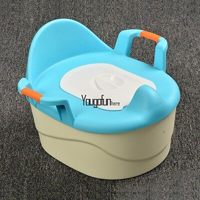 Portable Baby Toddler Kids Potty Training Toilet Chair Seat Kid Trainer Stable