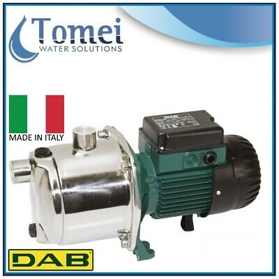 DAB Self priming stainless steel pump body JETINOX 92M 0,75KW 1x220-240V Z2