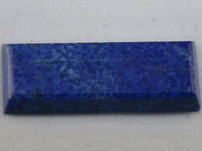 Lapis Lazuli Natural Gemstone 9X25Mm Baguette Cut Loose Cabochon 10Ct La16