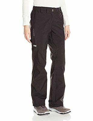 Helly Hansen W Packable Pantalone Impermeabile, Nero, XL (q0H)