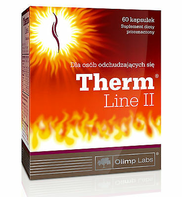 Olimp THERM LINE II 60caps. LOSE WEIGHT Perfect Body Slim Fit - free shipping !
