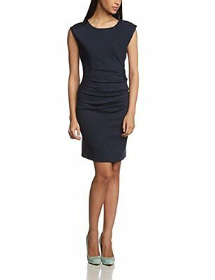 Kaffe - India Slim Dress, Vestito da donna, Blu (Blau (Midnight Marine (z3u)