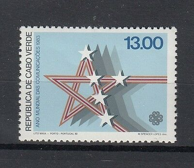 Cape Verde 1983 Year of Communications. Single. MNH. VF.
