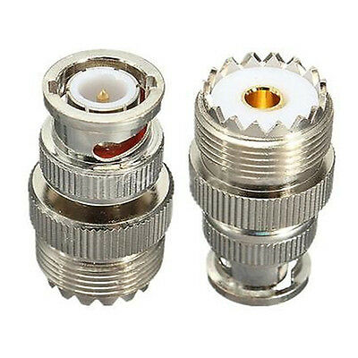 SO239 UHF female connector male BNC coaxial RF new adapter M6O7
