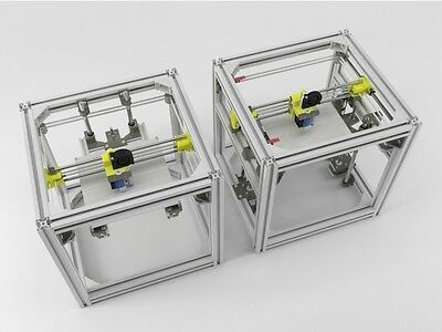 HyperCube Evolution 3D Printer frame 3D printer T-slot box only 2020 & 3030 extr