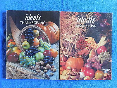 Lot of 2 Thanksgiving Issues of Ideals Magazine October 1980 & 1981