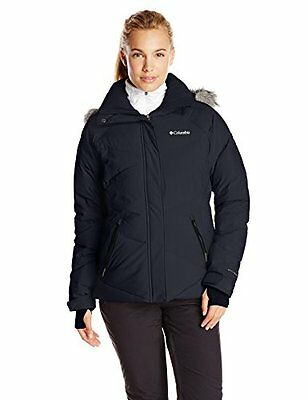 Columbia Lay D – Giacca da sci Donna, donna, Lay D Down Jacket, Black (c0s)