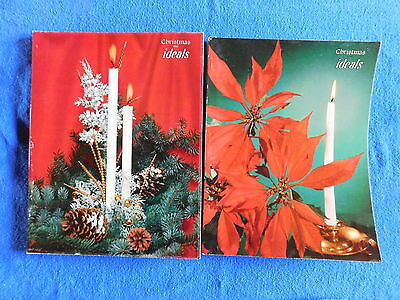 Lot of 2 Christmas Issues of Ideals Magazine October 1957 & October 1959