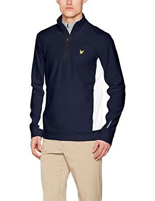 Lyle & Scott – Giacca Huntly, Uomo, Huntly, Z05 Navy, XXL (Z8I)