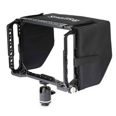 "SMALLRIG  for Blackmagic Video Assist 7"" Monitor Cage with Sunhood 1988"