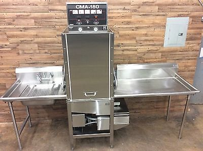 2004 CMA-180-VL Electric High Temp Door-Type Dishwasher w/ Booster Heater