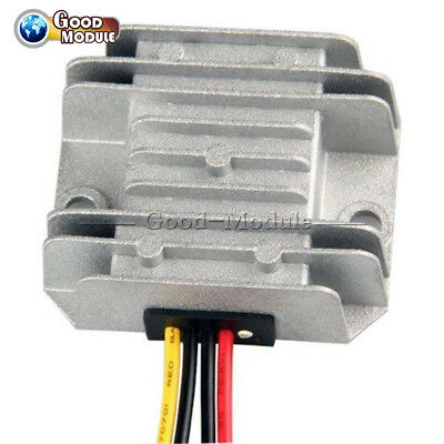 DC/DC Voltage Converter Regulator 24V Step Down to 12V 5A Waterproof Adapter