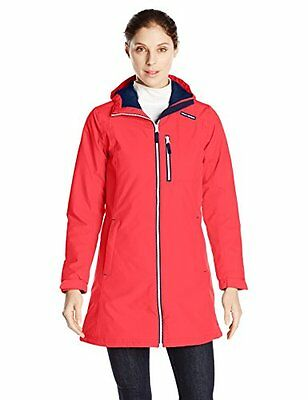Helly Hansen W Long Belfast Winter Giaccone, Rosso (Melt Down), L (N0T)