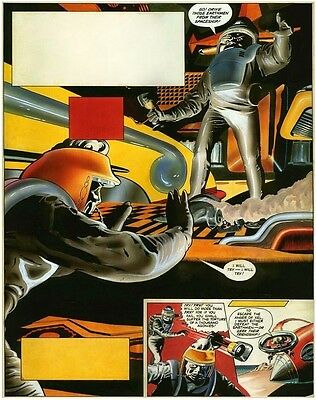 Original Artwork by Keith Watson, Eagle 1963,14/23. Dan Dare Operation Timetrap