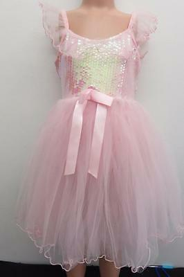 Dance Costume Large Child Pink Sequin Ballet Tutu GROUP Competition Pageant