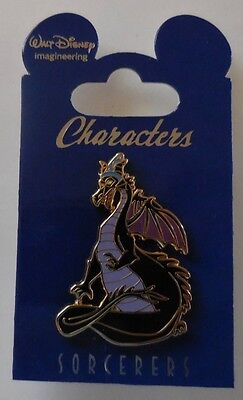 Disney Pin WDI Characters in Sorcerer Hats Maleficent as Dragon Le250 New